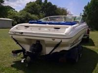 Very clean and well kept. 5.7L EFI Mercruser, bimini