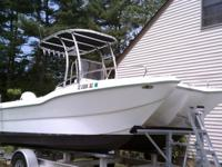1998 Seagull Catamaran center console with a 1999