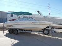 "1998 Searay Signature 20' 10"" Open Bow - This is a very"