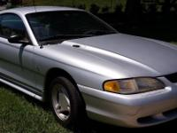 1998 Silver Ford Mustang  $2499 Manual V6 Cold