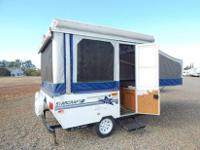 THIS IS A NON SMOKER NON PET TENT TRAILER. WE JUST TOOK