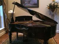 1998 Storey & Clark 5ft Baby Grand Piano Black Like-New