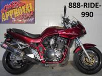 1998 Suzuki Bandit 1200 motorcycle for sale only