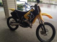 1998 Suzuki RM125 FMF PIPE AND SHORTY EXHAUST PRO TAPER