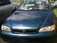 1998 Toyota Corolla- Blue - 172k - Price $3,800.00 to