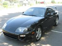 1998 Toyota Supra Twin Turbo, stock, 6 speed, 33,000