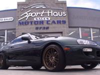 This 1998 Toyota Supra 2dr 3dr LB Automatic Coupe