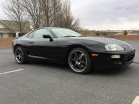 1998 Toyota Supra Turbo 6 Speed Manual Black,  Ivory