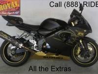 1998 used Suzuki GSXR600 crotch rocket all chromed out