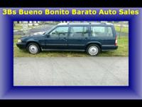 1998 Blue Volvo Wagon V90 2.9 L - $1750 CASH-3rd row