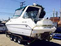 1998 Wellcraft 260SE Cruiser, 574 hours 27' ft,