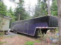 Worldwide Triple Axle Enclosed Cargo Trailer 5th Wheel