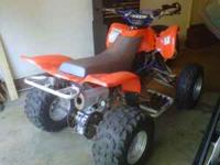 1998 Yamaha Warrior 4 wheeler for trade. 350cc.