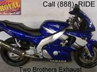 Used Yamaha YZF600R sport bike for sale - only $2,999!