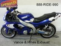 1998 YAMAHA YZF600R Crotch Rocket For Sale only