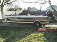 1998 191 Elite DC w200HP Mercury O/B   & Trailer  Comes