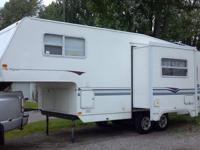 1998 Aerolite fifth wheel with slide out. New camper is