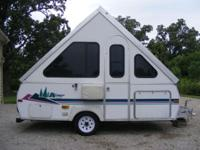 Hard-sided turn up camper in really great condition. We