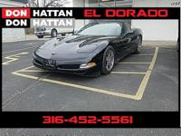 Black 1998 Chevrolet Corvette RWD 4-Speed Automatic