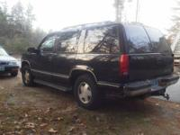 1998 Chevy Tahoe 1500 1/2 ton. 5.7 liter 4x4 AC Power