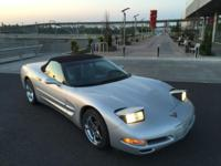 1998 CONVERTIBLE CORVETTE with LOW MILES, FULLY LOADED,