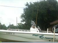 1998 dynasty fish master  20' cc 125 mercury saltwater
