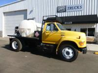 1998 Ford F-700 1998 Ford F-700 Flatbed/ Hot Pressure