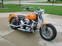HARLEY DAVIDSON EVO SOFTAIL OEM SPRINGER !!!- bought