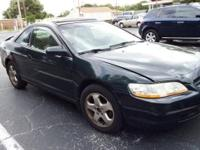 1998 Honda Accord EX V6,** 2D Coupe ** 3.0L V6 MPI 24V,