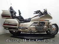 1998 Honda GL 1500SE Goldwing with 119,700 Miles. OK,