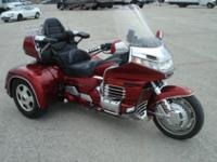 This is a 1998 Honda GL1500 Goldwing Trike. This is