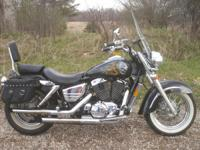 Motorcycles Cruiser 6316 PSN . 1998 Honda Shadow AERO