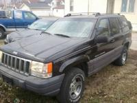This is my 1998 Jeep Grand Cherokee Laredo 4X4, the