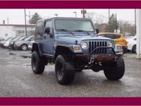 This Blue 1998 Jeep Wrangler 2DR SPORT might be just