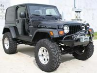 1998 Jeep Wrangler Rubicon Tribute 4X4 Custom, Black