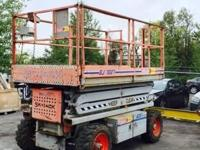 Used 1998 Skyjack 7027 4x4 rough terrain scissor lift,