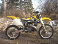1998 Suzuki RM250 Vet owned and very good condition.