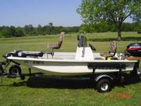 FOR SALE: 1999 14 FT. ROGUE FIBERGLASS CENTER CONSOLE