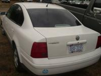 Selling in parts JUST:. '00 VW Passat GLS, 5-Speed