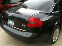 Currently selling all parts from a 1999 AUDI A6. The