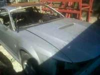 I am parting out a silver 2003 Ford Mustang with v6