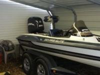 1999 201pro elite Stratos with 2005 225evinrude ho with
