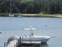 1999 24' Aquasport CC Osprey with Evinrude 225 Hp. Boat