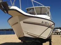 An excellent boat for the angler and invest the weekend