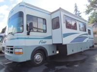 * 1999 34' FLEETWOOD FLAIR CLASS A MOTORHOME * MODEL