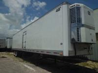 "1999 48' x 102"" Utility Reefer Trailer with a 2001"