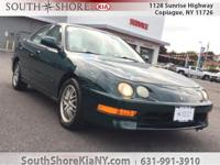 Green 4D Sedan 1999 Acura Integra LS FWD 4-Speed