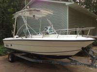 1999 Angler 205 Dual Console Fishing Boat - better than