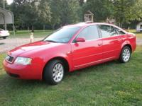 Audi A6 2.8 Quattro, 183,200 miles, Candy Apple Red w/