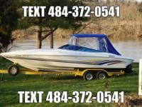 Baja 272 Boss fresh water boat is in excellent